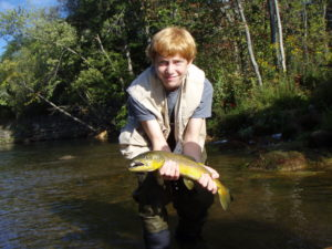 Fly Fishing for Wild Brown Trout Guided Tours | Northeast PA Fly Fishing
