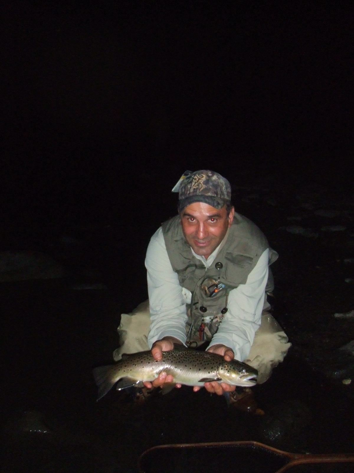 Night Fly Fishing for Big Wild Brown Trout Guided Tours | Northeast PA Fly Fishing